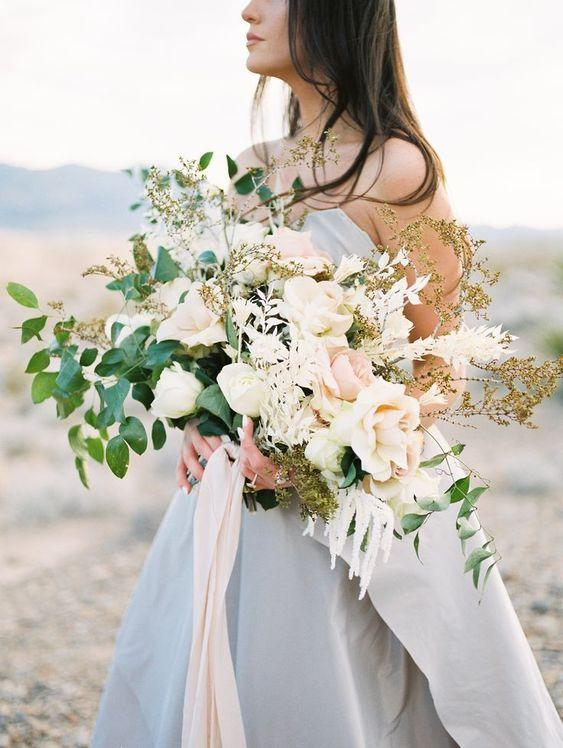 Oversized Bridal Bouquet 1