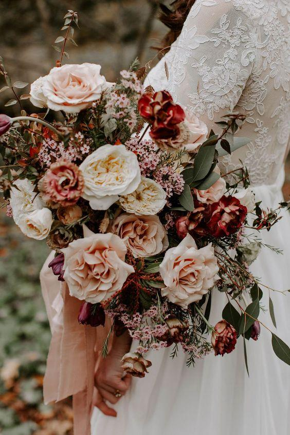 Woodsy Bridal Bouquet