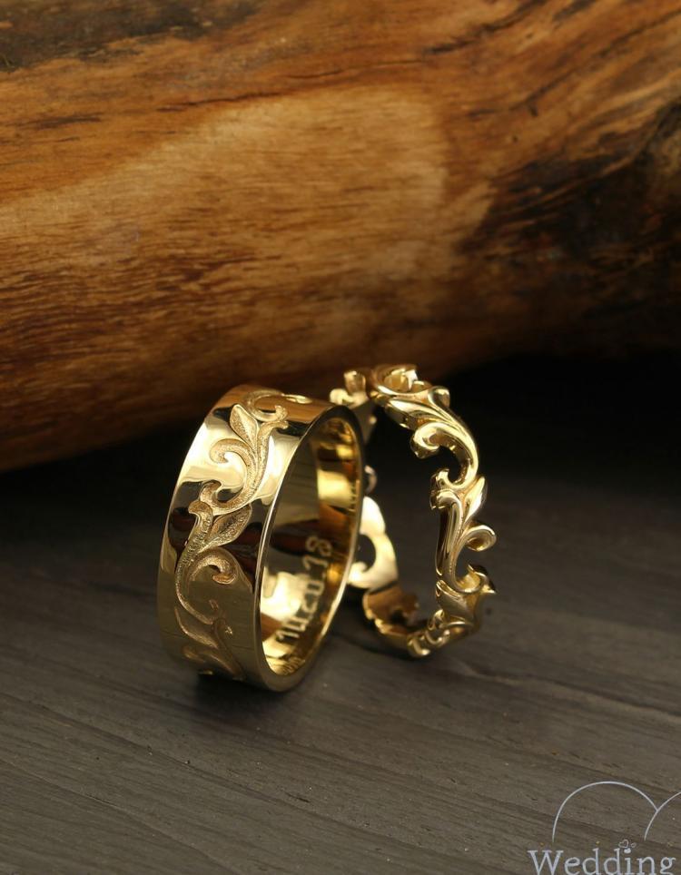 Matching Engagement Rings