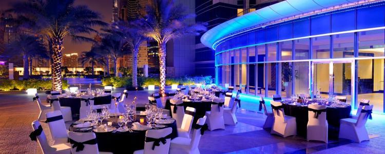 Marriott ballroom in Dubai