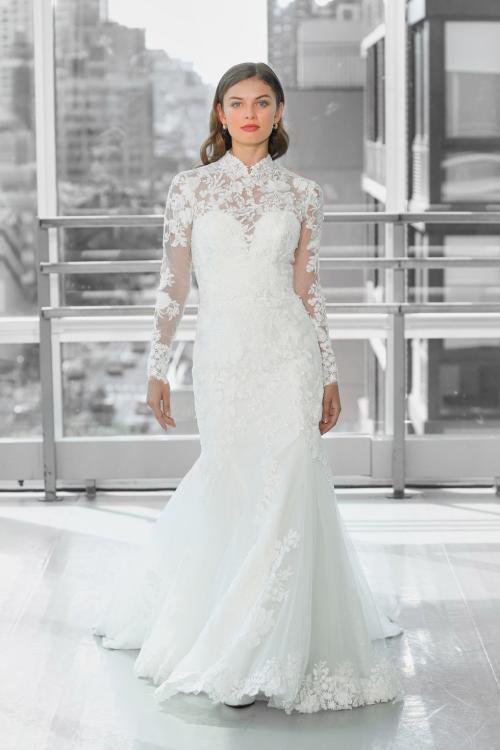 فستان زفاف من تصميم جاستين ألكسندر