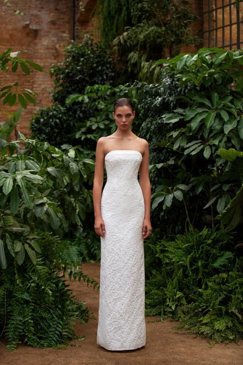 Cindy Simple Wedding Dress