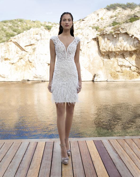 Demetrios Short Wedding Dress