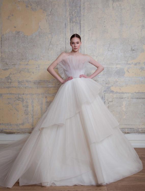 Georges Hobeika multi layered dresses