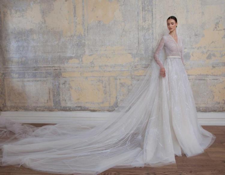 فستان زفاف من تصميم جورج حبيقة