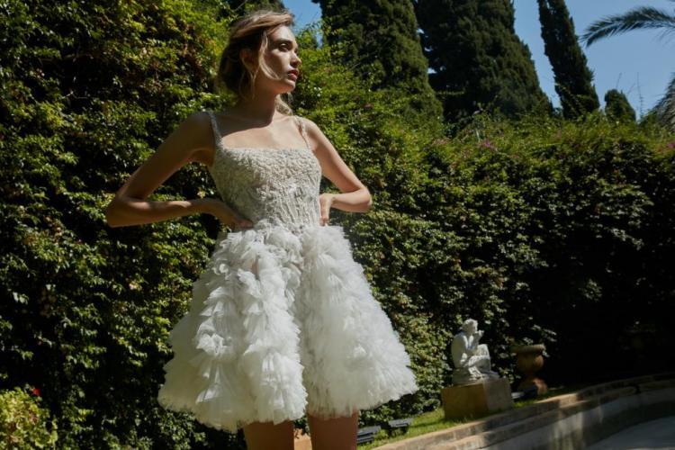 Tony Ward Multi Layered wedding dress