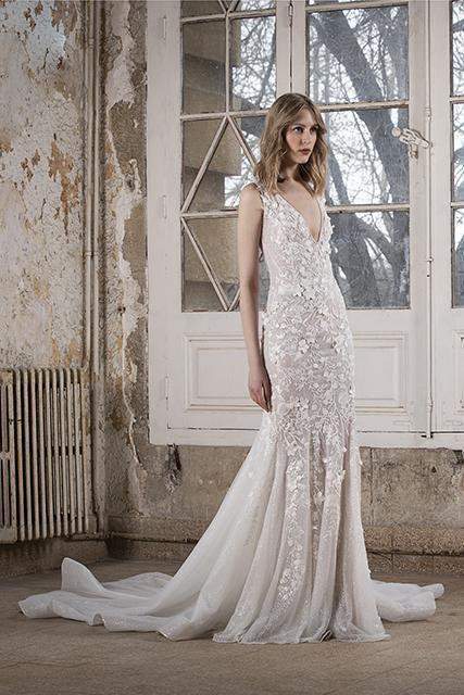فستان زفاف من تصميم طوني ورد