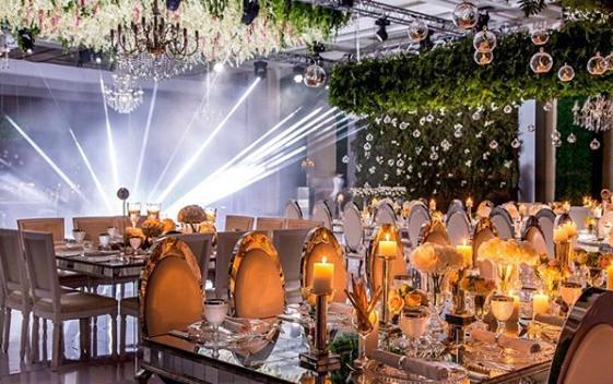 حفل زفاف من تنظيم احساس الحدث للأفراح والمناسبات