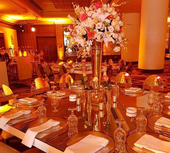 حفل زفاف من تنظيم شركة شاهين وشاهين