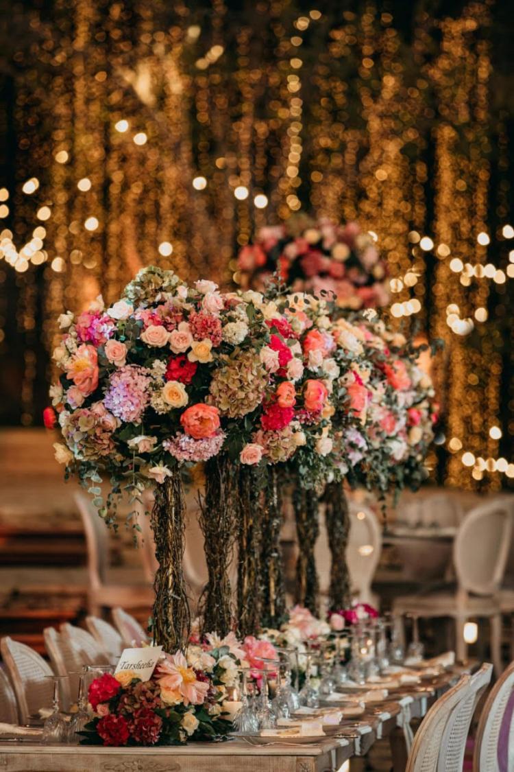 حفل زفاف من تنظيم ليلي ايفنتس