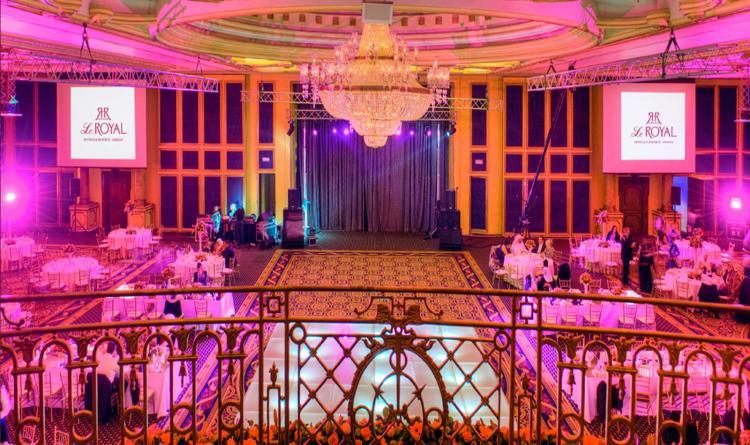 le royal hotel in Amman