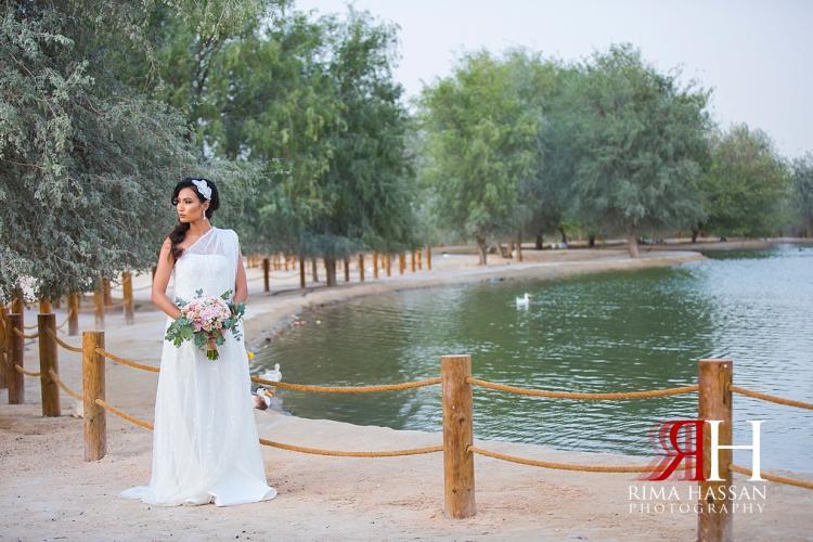 Rima Hassan Wedding Photography - at Bab Al Shams Dubai