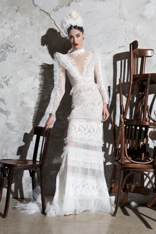 فستان زفاف من مجموعة زهير مراد