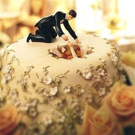 Funny Wedding Cake Toppers 1