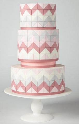 Geometric Wedding Cake 1