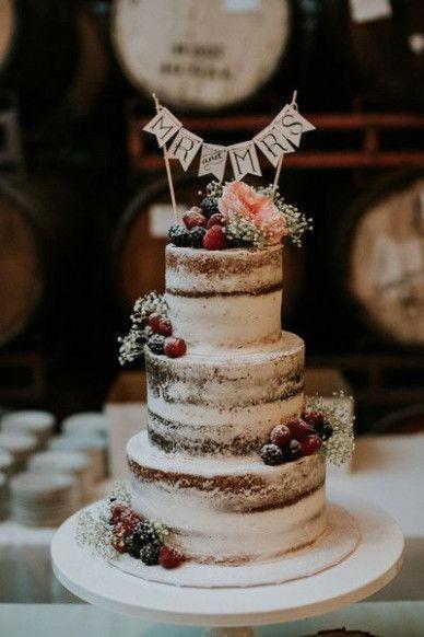 Naked Wedding Cakes 1