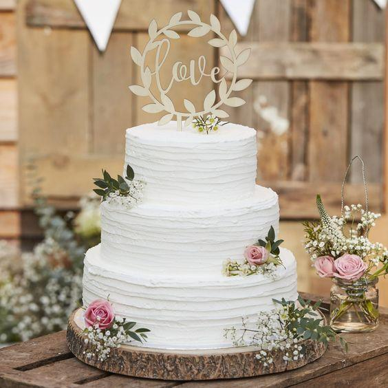 Rustic Cake Toppers 1
