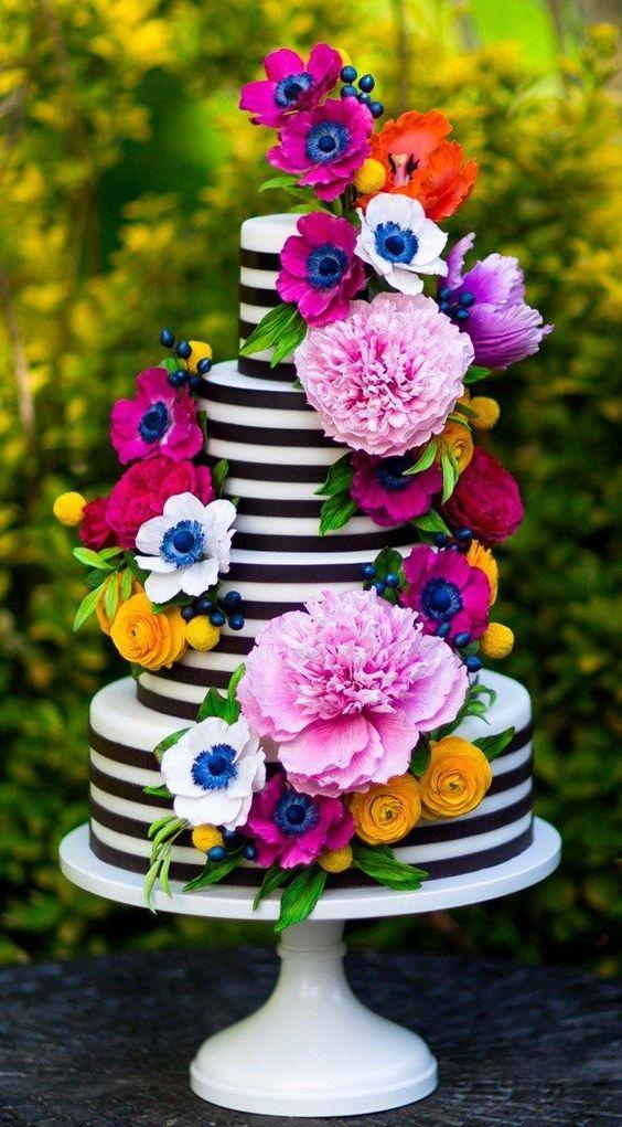 Stripes and Flowers