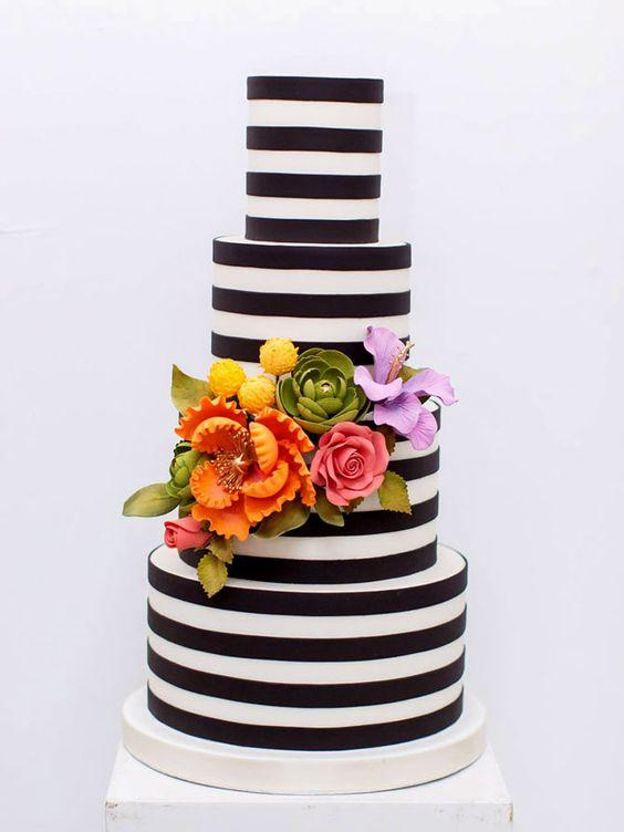 Stripes and Flowers 2