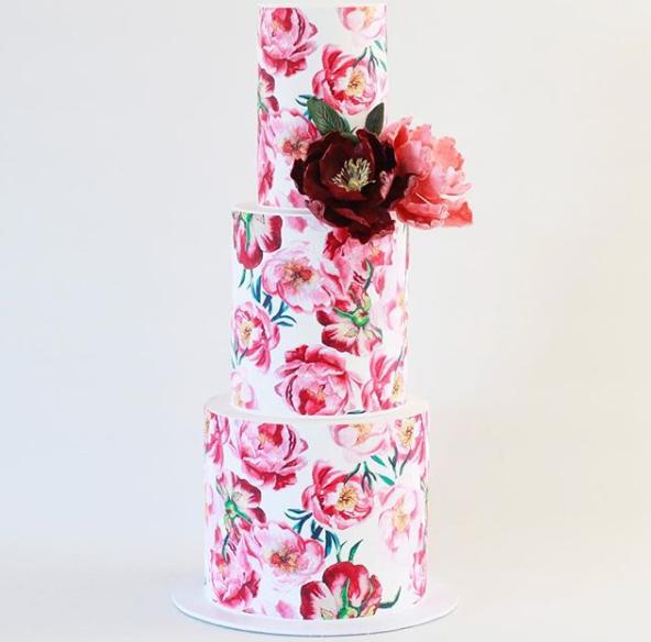 Flower Wedding Cake 1