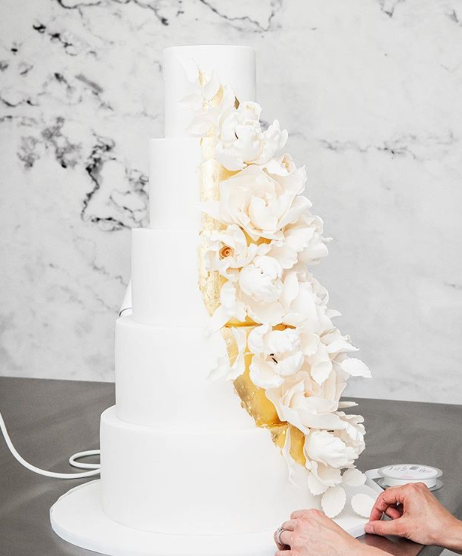 Flower Wedding Cake 2