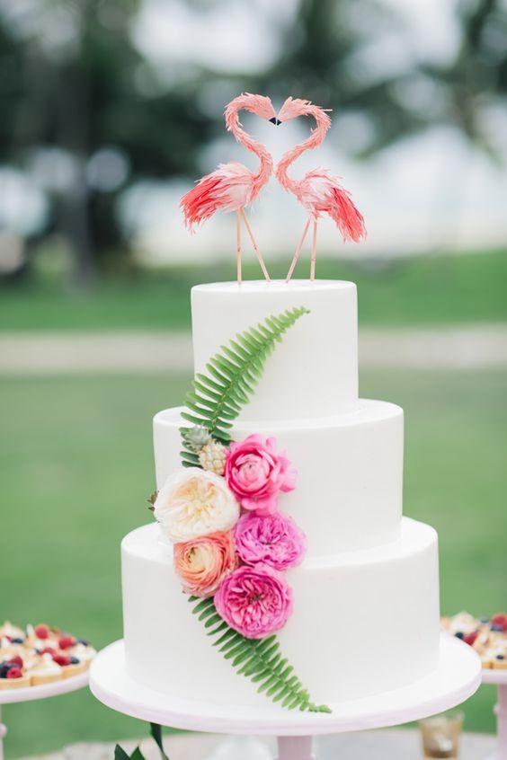 Tropical Wedding Cake 2