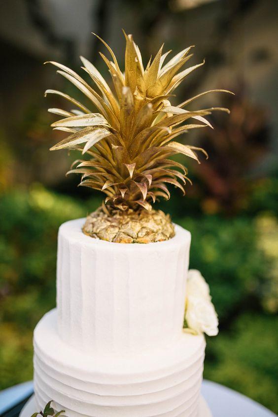 Tropical Wedding Cake 1