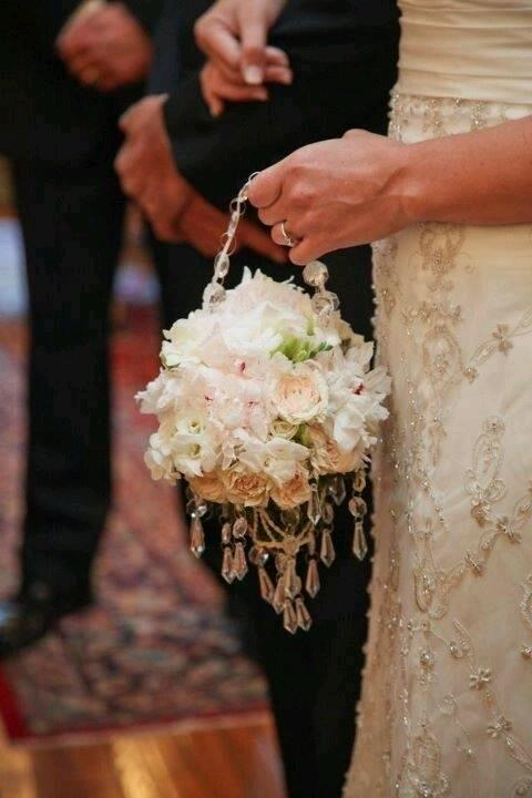 Pomander Wedding Bouquet