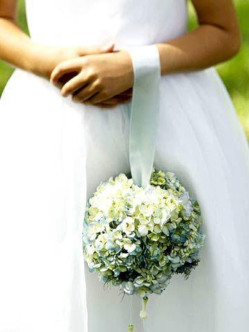 Pomander Wedding Bouquet 1