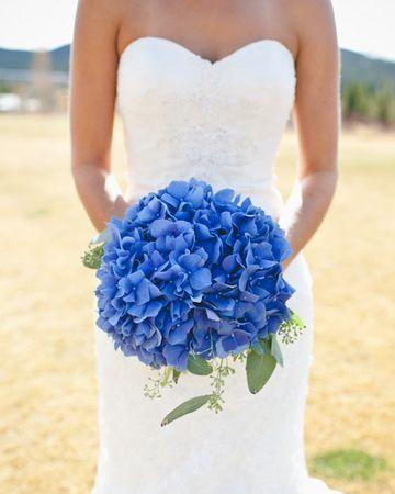 Single Colored Wedding Bouquet