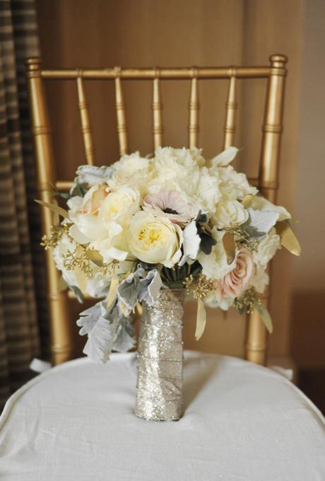 Glitter Wedding Bouquet