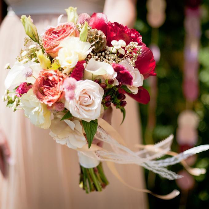 Ribbons Bouquet