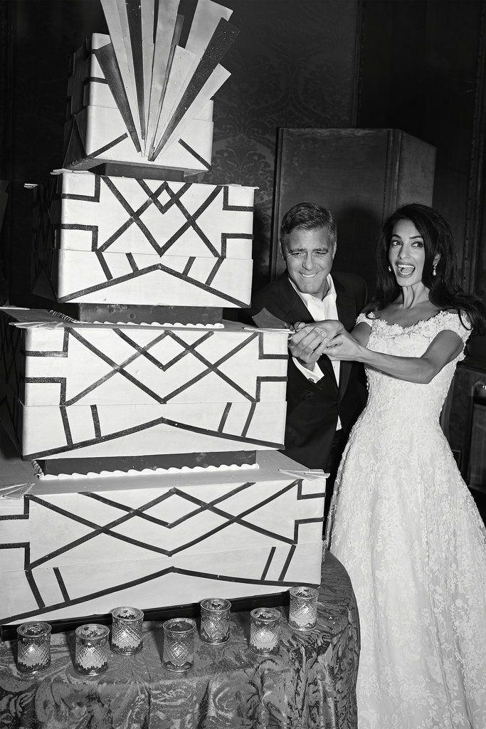George Clooney and Amal Alamuddin's Wedding Cake