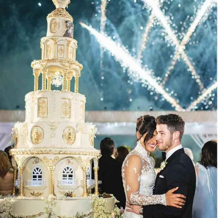 Priyanka Chopra and Nick Jonas' Wedding Cake