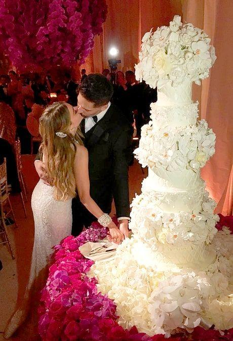 Sofia Vergara and Joe Manganiello's Wedding Cake