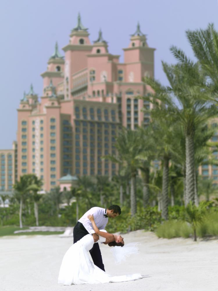 Wedding at Atlantis, The Palm in Dubai
