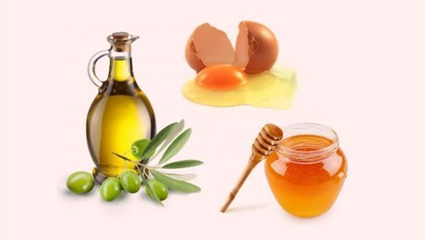 Egg Yolk, Honey and Olive Oil Facial Mask