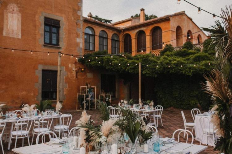 Destination Wedding at Masia Egara, Barcelona
