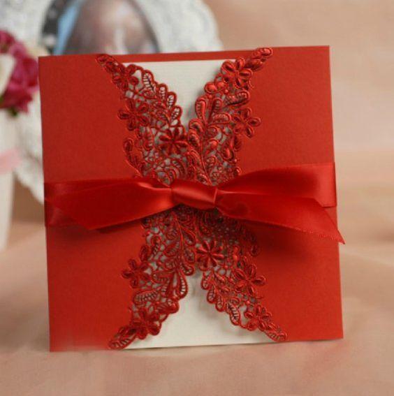 Valentine's Wedding Invitations