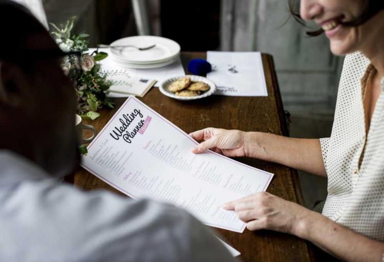Write a wedding planning book