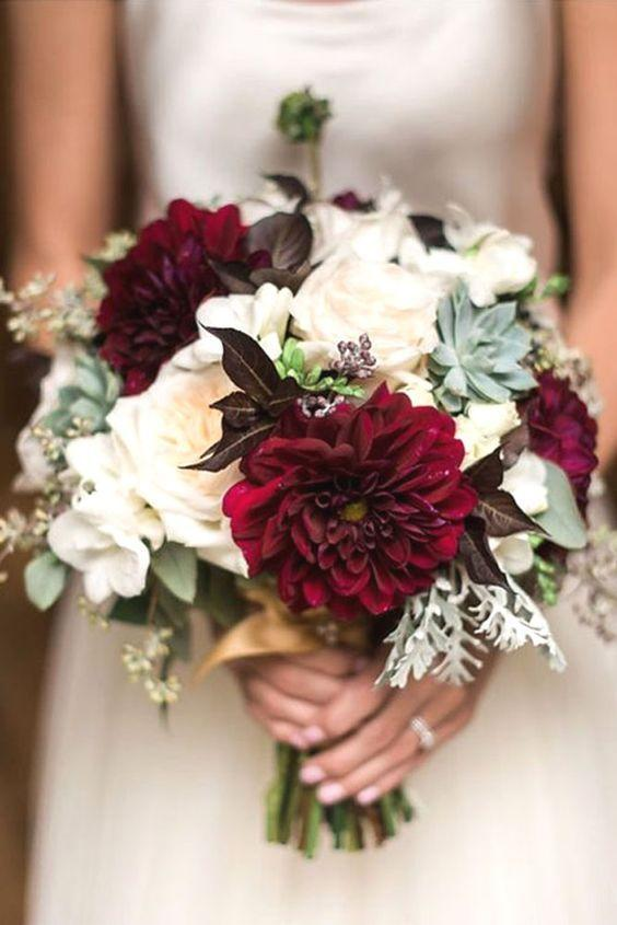 Seasonal Wedding Bouquet