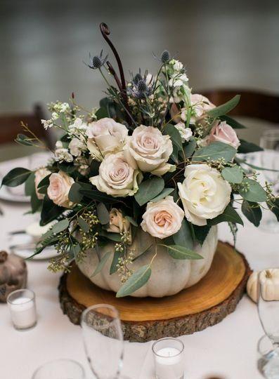Fall Wedding Centerpieces 1
