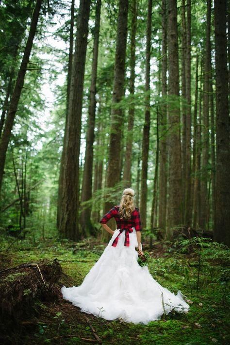 Plaid Wedding Theme 3