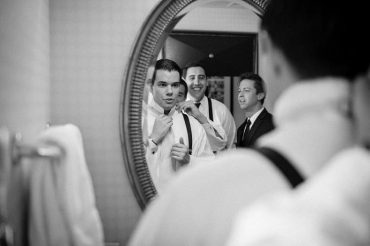 الاستعداد لحفل الزفاف
