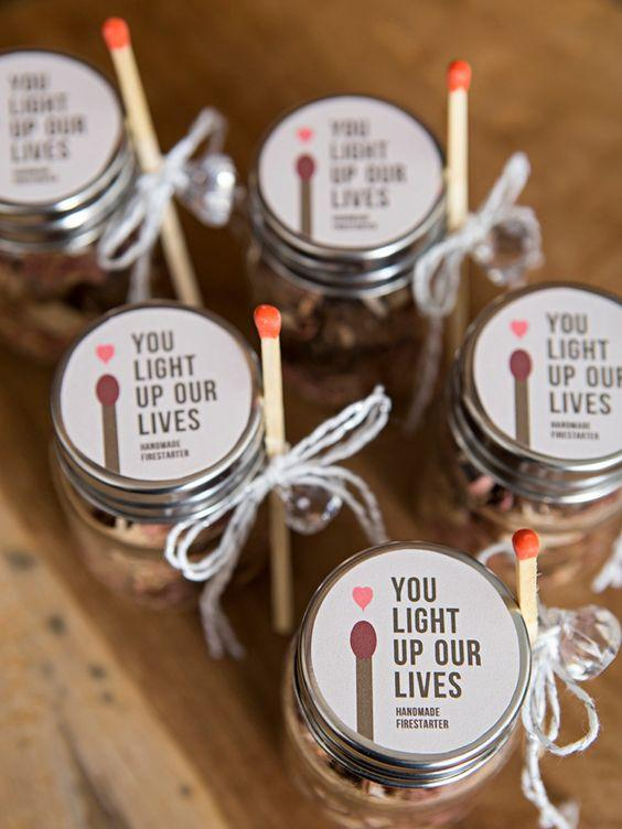 Candle Wedding Favors 1