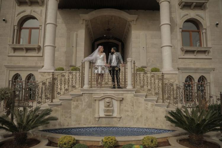 Lara Haidar and Husam Jawhari guestless wedding
