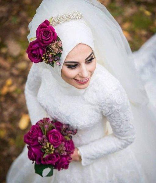 Hijab with Flowers