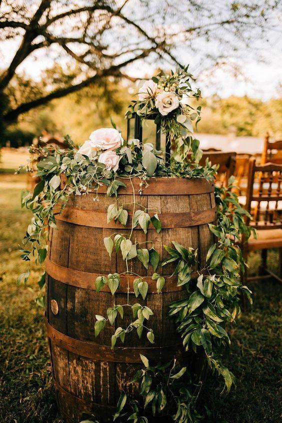 Barrels Wedding Decorations