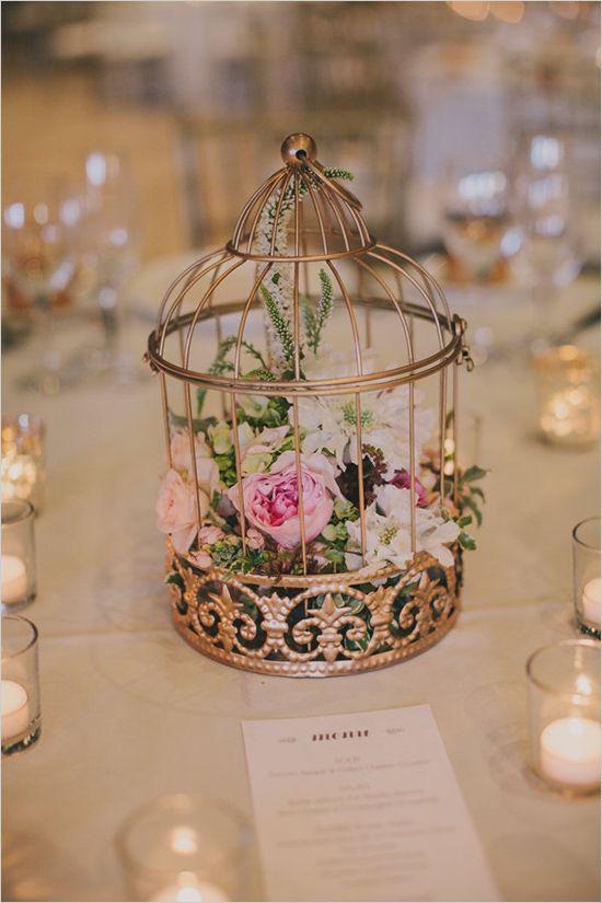 Bird Cages Wedding Decor 2