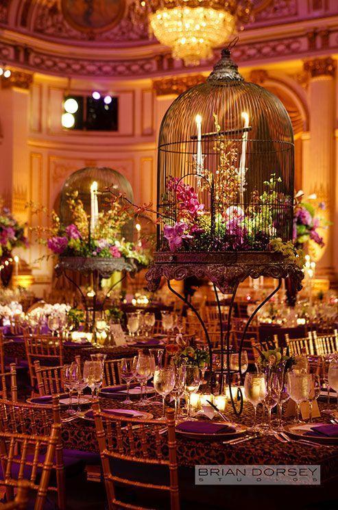 Bird Cages Wedding Decor 4